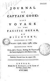 Journal of captain Cook's last voyage to the Pacific Ocean in the years 1776, 1777, 1778 and 1779...