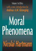 Moral Phenomena PDF