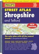 Philip's Street Atlas Shropshire and Telford