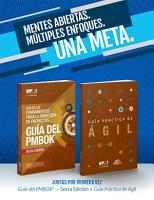 A Guide to the Project Management Body of Knowledge  PMBOK R  Guide Sixth Edition   Agile Practice Guide Bundle  SPANISH  PDF