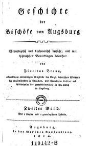 Geschichte der Bischote von Augsburg