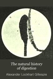 The Natural history of digestion