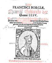 Leben Francisici Borgiae