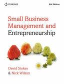 SMALL BUSINESS MANAGEMENT   ENTREPRENEUR