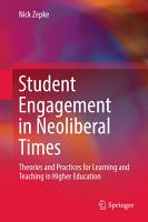 Student Engagement in Neoliberal Times PDF