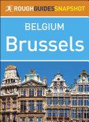 Brussels (Rough Guides Snapshot Belgium)