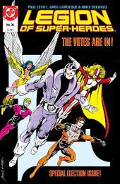 Legion of Super-Heroes (1984-) #36