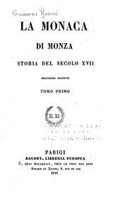 La Monaca di Monza: storia del secolo XVII.