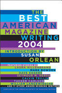 Download The Best American Magazine Writing 2004 Book
