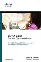CCNA Voice Portable Command Guide PDF