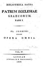 Fl. Josephi Opera omnia: Τόμοι 4-6