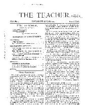 The New Education: Volume 1, Issue 1