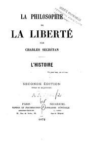 La philosophie de la liberté: Volume2