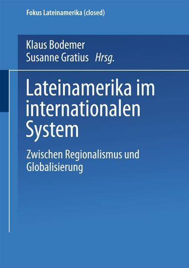 Lateinamerika im internationalen System PDF