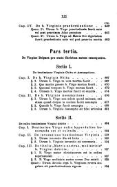 Mariologia, seu Potiores de S. Deipara quaestiones ex Ss. Patrum ac theologorum mente propositae