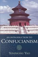 An Introduction to Confucianism PDF