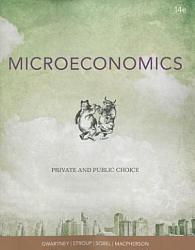 Microeconomics Private And Public Choice Book PDF