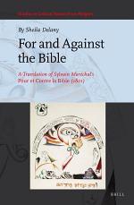 For and Against the Bible: A Translation of Sylvain Maréchal's Pour et Contre la Bible (1801)