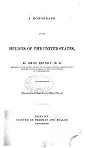 A Monograph of the Helices of the United States