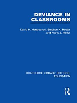 Deviance in Classrooms  RLE Edu M  PDF