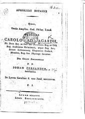 Aphorismi botanici ...: Page 12