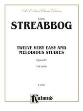 Twelve Very Easy and Melodious Studies, Opus 63: For Piano