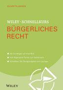 Schnellkurs B  rgerliches Recht PDF