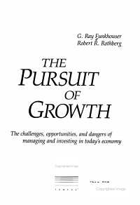 The Pursuit of Growth