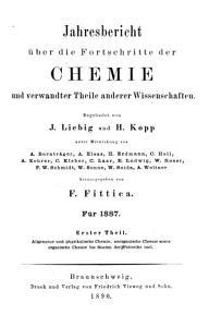 Jahresbericht   ber die Fortschritte der Chemie und verwandter Theile anderer Wissenschaften    PDF