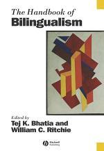 The Handbook of Bilingualism
