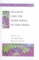 Palliative Care for Older People in Care Homes PDF