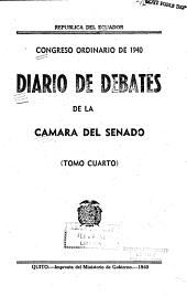 Diario de debates de la C  mara del Senado PDF