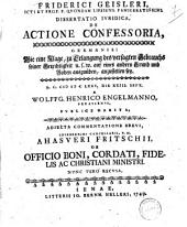 De actione confessoria