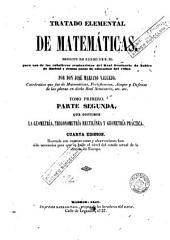 Tratado elemental de matemáticas, 1: escrito de orden de S.M. para uso de los caballeros seminaristas del Seminario de Nobles de Madrid y demás casas de educación del Reino
