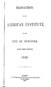 Transactions of the American Institute of the City of New-York