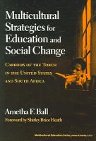 Multicultural Strategies for Education and Social Change PDF