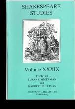 Shakespeare Studies PDF