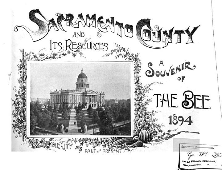 Sacramento County and Its Resources