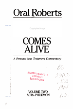The New Testament Comes Alive: Acts-Philemon