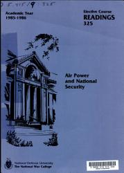 Air Power and National Security PDF