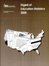 Digest of Education Statistics  2008 PDF