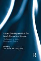 Recent Developments in the South China Sea Dispute PDF