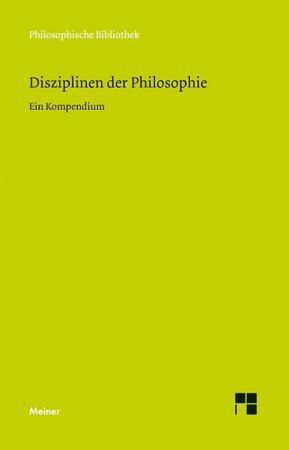 Disziplinen der Philosophie PDF