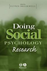 Doing Social Psychology Research PDF