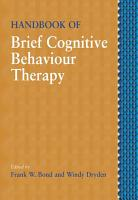Handbook of Brief Cognitive Behaviour Therapy PDF