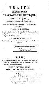 Traité élémentaire d'astronomie physique: Théorie du soleil. Théorie de la lune