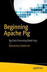 Beginning Apache Pig PDF