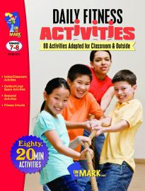 Gr  7 8 Daily Fitness Activities   80 Activities Adapted for Classroom   Outside PDF