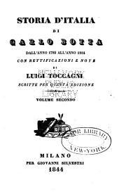 Storie d'Italia dall' anno 1789 all' anno 1814: Volume 2
