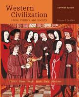 Western Civilization  Ideas  Politics  and Society  Volume I  To 1789 PDF